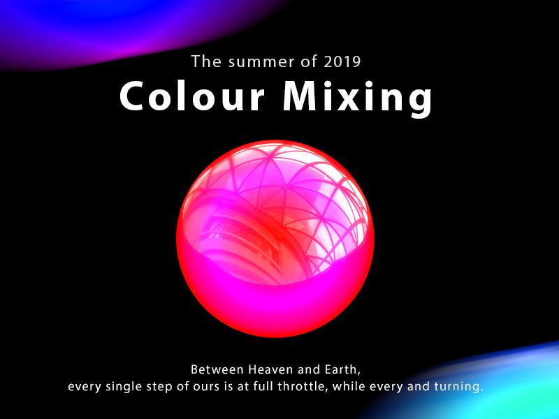 Colour Mixing 设计 design 彩条 c4d
