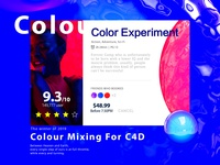 Colour Mixing For C4d