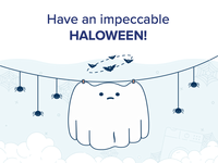 Be clean for haloween