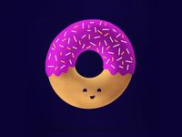 Doughnut topping