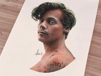 Portrait of Harry Styles