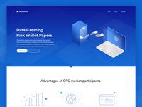 Homepage Design of Marketing Website