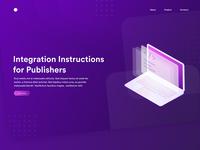 Website Design for Integration Instruction