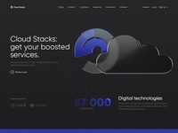 Visualization of Cloud Stacks Web Page Design