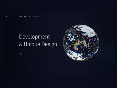 Website for JS. Design Studio
