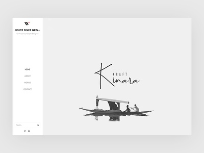 White Space Nepal wordpress design website design ui design wordpress ui design graphic design contemporary clean design minimal web design