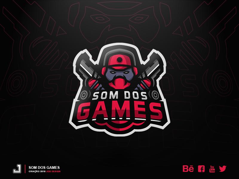 Logo - Som dos Games youtube games mascot logo esports