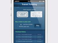 ticketing app WIP