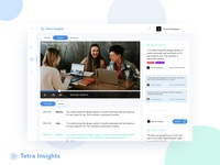 Video Annotation Software UI for Tetra Insights