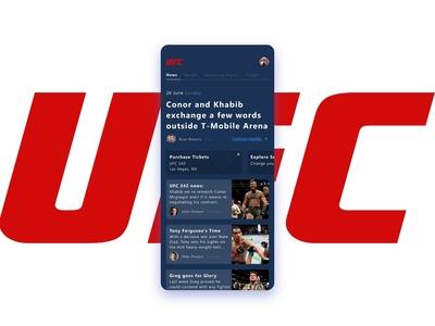 UFC App Rebound