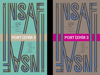Port Izmir 3 poster typography