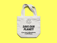 Save Our Planet! Tote Mockup