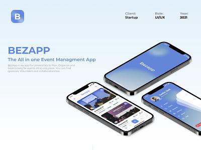 Event Management App | UIUX Design iphone app design icon ui web ios guide blue app design glassmorphism neumorphism events socialmedia app web design uiux graphic design