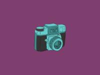 Holga Camera Illustration