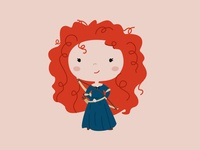 The 100 day project #1 - Merida
