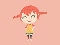 The 100 day project #5 - Pippi Longstocking
