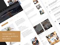 Hotel web design 03