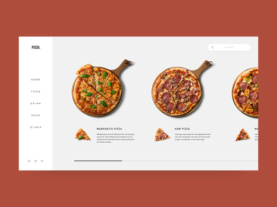 Food web home page design