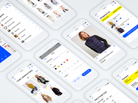 E-commerce iOS App. #MadeWithAdobeXD