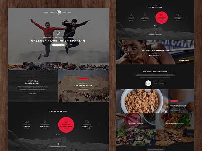 Homepage responsive