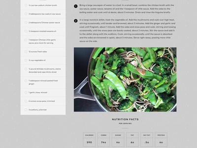 Nutrition Article View responsive