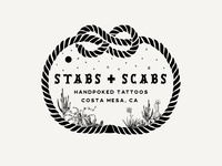 Stabs + Scabs Logo