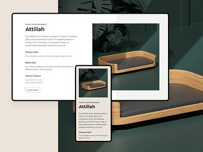 Feniska Web 3d render layout ui webflow web design ui design