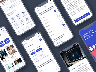 Mentoroom Case Study app design mobile app ux design project case study