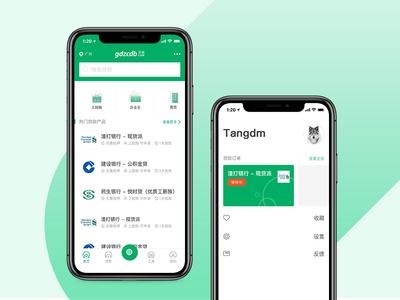 The green version Financial APP
