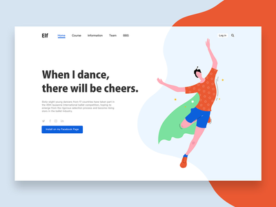 Illustration dance