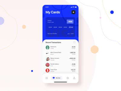 Wallet App - My Cards