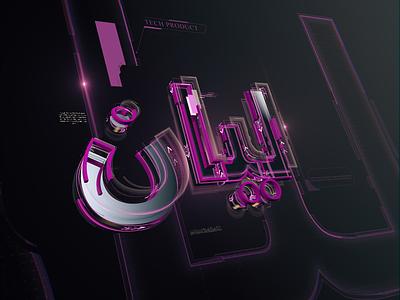Layan glow broadcast animation design name layan