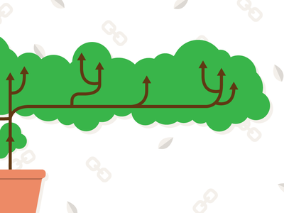 Linktree Blog Header vector design flat illustration illustration flat design blog header