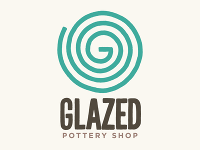 Logo for Glazed Pottery Shop