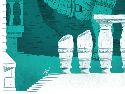 Shadow of the Colossus Digital Illustration