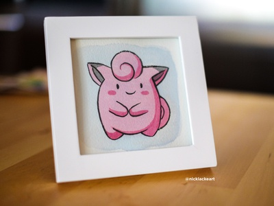Pokemon Go Gouache [Clefairy]