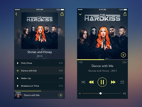 Music Player for The Hardkiss