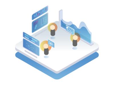 Data driven - Landing page