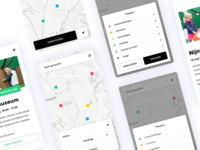 UIT op de kaart - UI Design