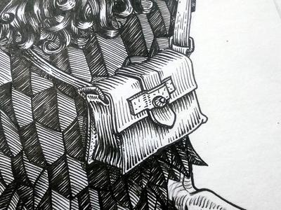 Bird Bag Detail