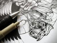 Bird - detail
