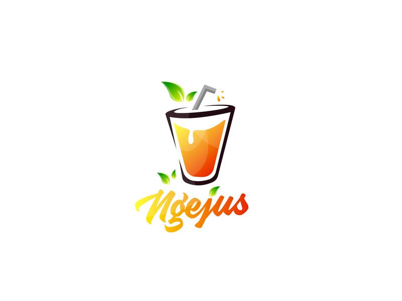 Jus Logo nature lemon orange logo juice juicelogo juices juice fruits fruit fruit logo