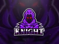 Knight Mascot Esport Logo