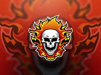 Ghost Fire Esport Logo