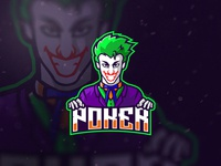 The Joker Esport Mascot Logo