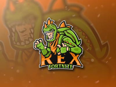 REX Fortnite Skin - Esport Logo