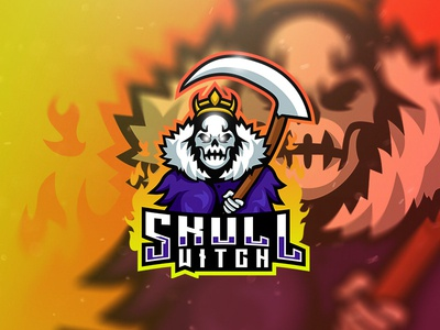 Skull Witch Esport Logo
