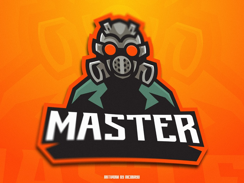 Gas Mask Esport Logo | Mascot logo