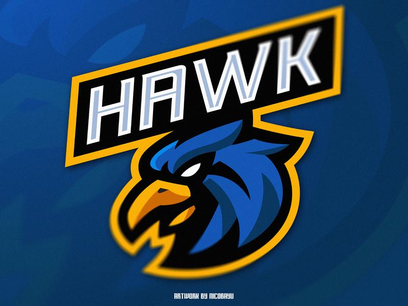 Hawk Esport Logo | Hawk Mascot Logo