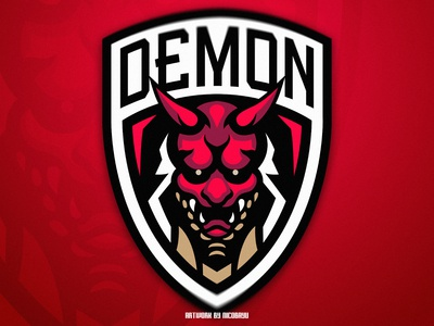 Demon Esport Logo | Demon Mascot Logo